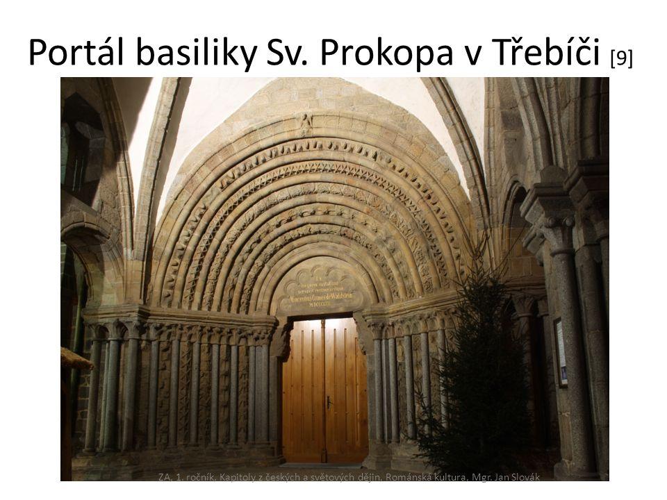 Portál basiliky Sv. Prokopa v Třebíči [9]